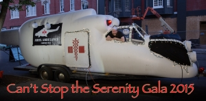 "Photo taken by Joshin Yamada This is the ambulance from the Firefly episode ""Ariel""!"